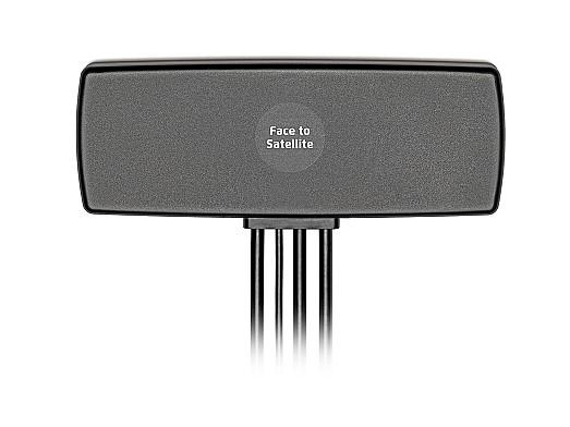 2J4A50PCFc Antenna - 2× 4G LTE MIMO/FirstNet/LPWA/NB-IoT/Cat-X-Mx-NBx/3G/2G, GPS/GLO/BEI/QZSS/Galileo/L1, 2.4-5.0GHz/WiFi/Sigfox/LoRa/LPWA/BT/ZigBee/RFID/ISM
