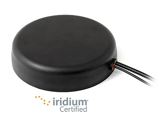 2J6533MGF GNSS and Iridium Certified Magnetic Mount Antenna by 2J Antennas