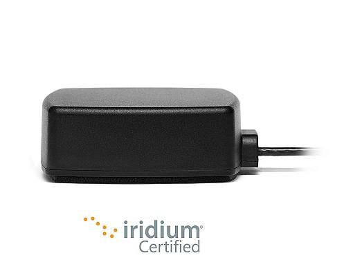 2J6926MP Iridium Low Profile High Gain Magnetic Adhesive Mount Antenna by 2J Antennas