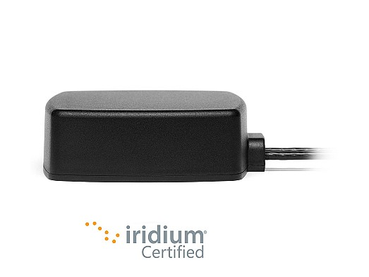 2 in 1 GNSS and Iridium Certified IP67 IP69 Magnetic Adhesive Mount by 2J Antennas