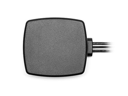 2J6947Pa, ultra-wideband 3 in 1 combination 4G LTE/3G/2G MIMO and WiFi 6E Adhesive Mount Antenna designed and manufactured by 2J Antennas