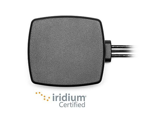 2J Antennas 3 in 1 Cellular LTE GNSS and Iridium Certified Magnetic Adhesive Mount Antenna