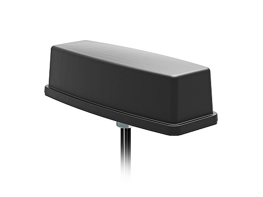 2J6C86BCFa Bullion 5-in-1 5GNR MIMO, Wifi-6E MIMO and GNSS Screw Mount Antenna designed and manufactured by 2J Antennas