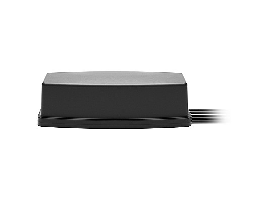 2J6C86MCFa Bullion 5-in-1 5GNR MIMO, Wifi-6E MIMO and GNSS Magnetic Mount Antenna designed and manufactured by 2J Antennas