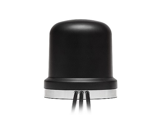 3-in-1 Medusa 4G LTE/3G/2G Cellular MIMO, GNSS/GPS Magnetic Mount Antenna by 2J Antennas