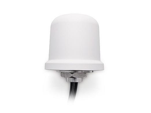 2J7050BGFc Antenna - 2× 4G LTE MIMO/FirstNet/LPWA/NB-IoT/Cat-X-Mx-NBx/3G/2G, GPS/GLO/QZSS/Galileo/L1, 2.4-5.0GHz/WiFi/Sigfox/LoRa/LPWA/BT/ZigBee/RFID/ISM