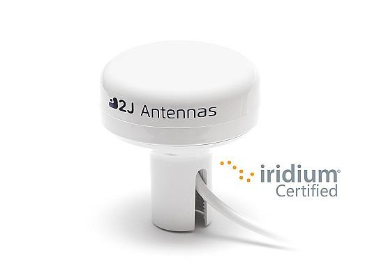 2J9126JBW-B12JW-B10BW Iridium Certified Configurable Mounting Marine Antenna by 2J Antennas