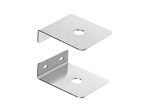 2JB03H - Wall Mount Stainless Steel Antenna bracket