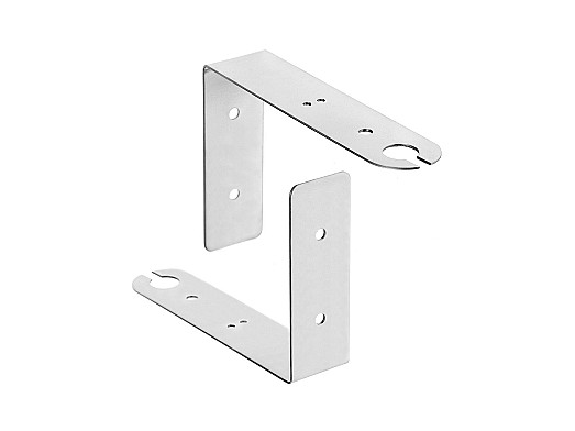 2JB06H - Wall Mount Stainless Steel Antenna bracket