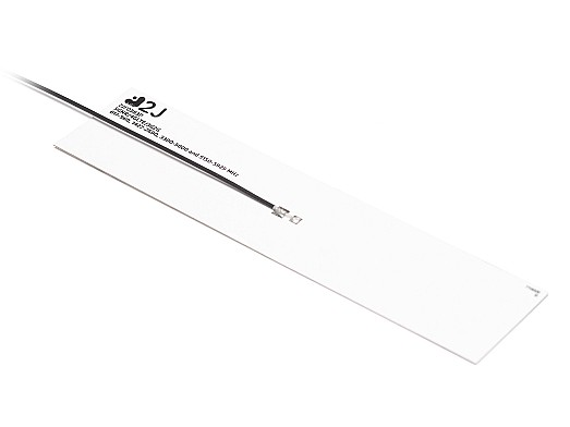 5G NR/4G LTE/3G/2G flexible polymer internal antenna covering a wide bandwidth 617-5925mhz by 2J Antennas.