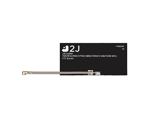 2JF1424P Mono-Flexi Series Cellular 4G LTE/3G/2G Left Hand Flexible Antenna designed and manufactured by 2J Antennas