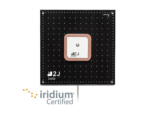 High Performance, Internal Passive Antenna for IRIDIUM worldwide satellite voice and data communication