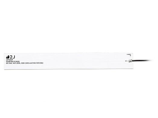5GNR/4GLTE/3G/2G rigid fiberglass internal antenna covering a wide bandwidth 617-5925mhz by 2J Antennas