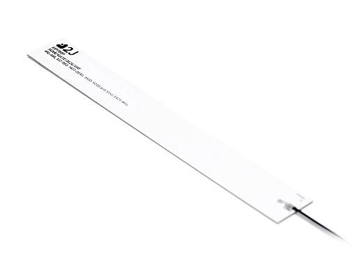 5G/4G/3G/2G/UHF rigid fiberglass internal antenna covering a wide bandwidth 410-5925mhz by 2J Antennas.