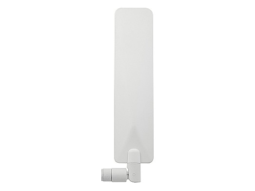 Versatile wideband 5GNR/4G/3G/2G/CDMA hinged connector mount external antenna by 2J Antennas