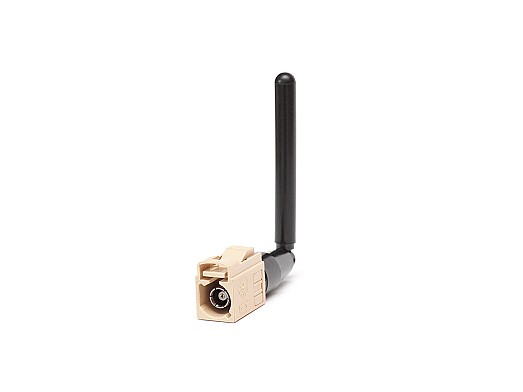 2.4/5.0/6.0GHz WiFi 6E ISM Hinged Connector Mount Antenna (2JW1002-FKI) by 2J Antennas