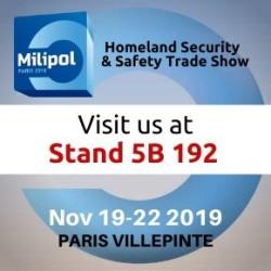 Milipol Paris 2019 exhibition
